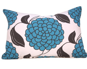 Pillow - Decorative Pillow - Throw Pillow - Graphic Pattern Pillow - Floral Pillow