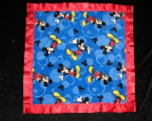 Popular Items For Mickey Mouse Fleece On Etsy