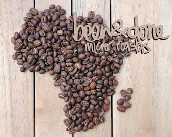 Tanzania Burka Estate AAA Been & Done Micro Roasters Freshly Roasted Coffee Beans 250g