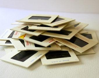 10,000) + SLIDES - 35mm - VINTAGE SLIDES (1950s-1980s)