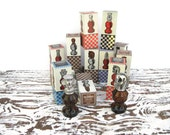Vintage Avon Chess Piece After Shave Bottles Collection of 12 - Relic189