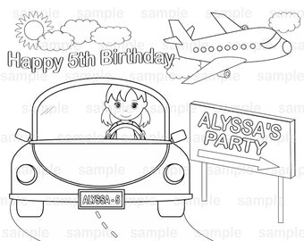 spa party coloring pages - photo#24