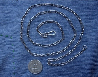 Custom Antique Sterling Silver Chain for Pendants