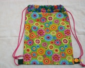 Child's Backpack  w/ drawstrings 2