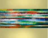 HUGE 24X60 Abstract Original Painting Ready to Hang Modern Art  By Thomas John