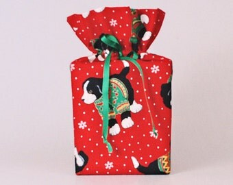 Tissue Box Cover Christmas Tissue Box Cover Puppy Tissue Box Cover Christmas Kleenex Box Cover Christmas Kleenex Box Holder Red
