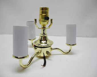 Lamp Part: Replacement Brass Socket Assembly for Vintage Floor Lamps or for Lamp Construction