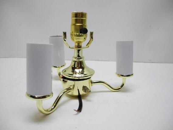 lamp part replacement brass socket assembly for vintage floor. Black Bedroom Furniture Sets. Home Design Ideas