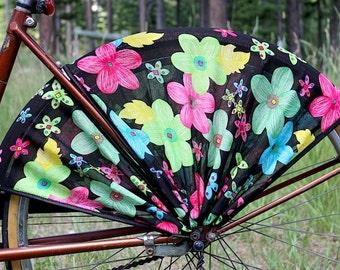 Bike Skirt Guard, 'Happy Day'