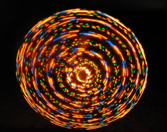Fire on the Mountain LED Hoop