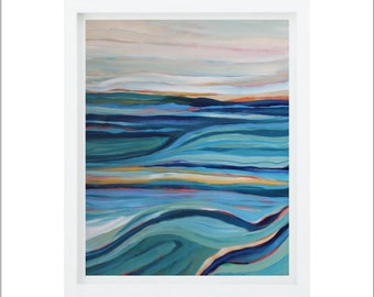 New Territory   Fine Art Giclee Print (8x10, 11x14, 16x20, and 20x24 available)