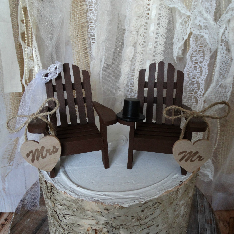 Adirondack beach wedding chairs Adirondack by MorganTheCreator