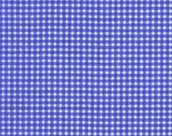 Periwinkle Purple Tiny Gingham From Michael Miller