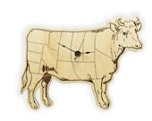 Cow Clock - Handmade - Laser Cut