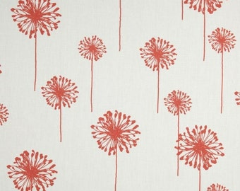 INVENTORY CLEARANCE - Coral Dandelion Table Runners - Table Runner For Weddings or Home Decor - Select A Size