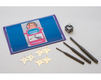 Riveting Kit by Gwen Youngblood - Join Metal - Add No Solder Bezels - Metal Working Jewelry Rivating Tool