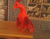 Miniature phoenix for Harry Potter/ fantasy dollhouse or roombox