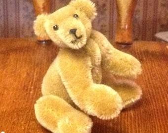 6 inch mohair artist bear.