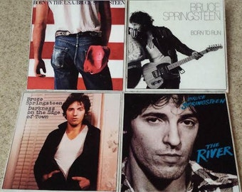 Bruce Springsteen Album Cover Coasters