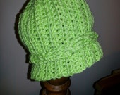 Light Green Cabled Hat