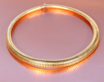 French Art Deco Gold Plated Necklace 1930s Dressy Chic Jewelry