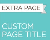 Custom Page Title