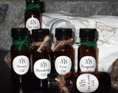 CANDLE ANOINTING OILS  - Blessing Oils - Action, Luck, Love, Money, Prosperity, Banishing - Pagan - Wicca