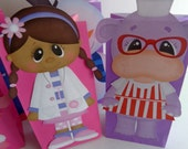 SALE Doctor girl Party Favor Bags Full body