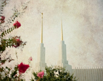 INSTANT DOWNLOAD Serenity - Washington DC lds Temple, fine art print home decor instant printable Virginia Maryland Baltimore mormon