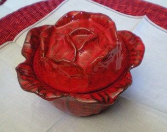 On Sale - 20% Off - Vintage Italy PV Covered Cabbage Bowl