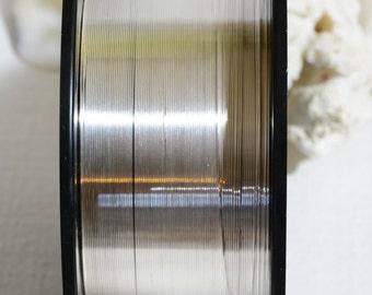 SS 22GA  HH Half Round Wire Jewelry Making Supplies Wire Findings Sterling Silver Half Round Wire