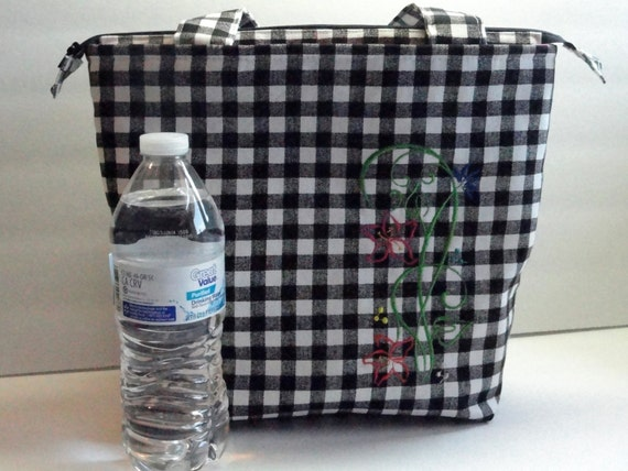 large lunch bag lunch tote bag insulated womens lunch bag. Black Bedroom Furniture Sets. Home Design Ideas