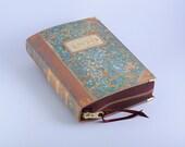 Book Clutch Old 1800's book cover