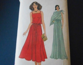 Vogue  7503     Sundress or Long, Shawl,  size 14