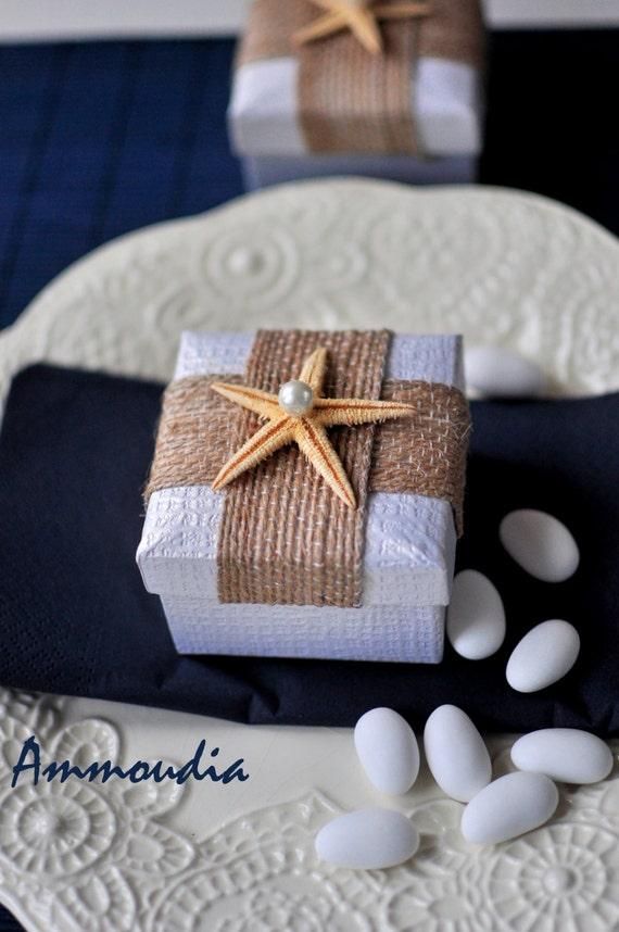 Starfish On A Box Wedding Favors Bridal Shower Favor Baby