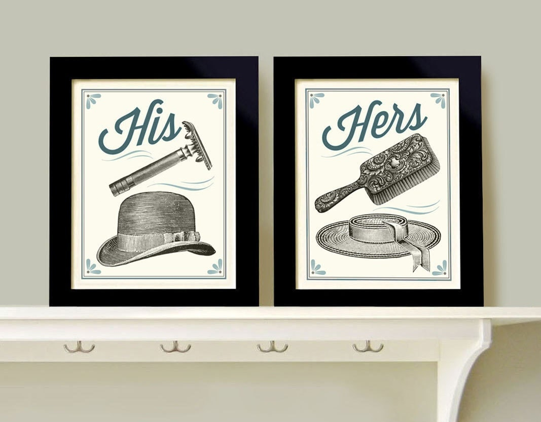 his and hers bathroom decor man woman bath men 39 s razor