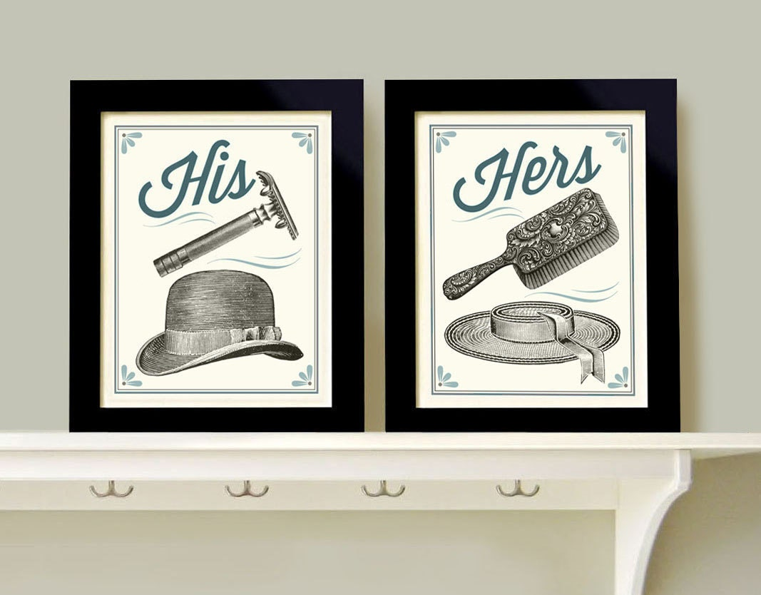His and hers bathroom decor man woman bath men 39 s razor for His and hers bathroom