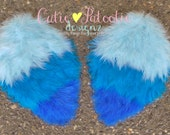 Jungle Jewel Feather Arm Bird Wings - Blue Macaw Costume Accessory - Toddler - Child Size - Cutie Patootie Designz