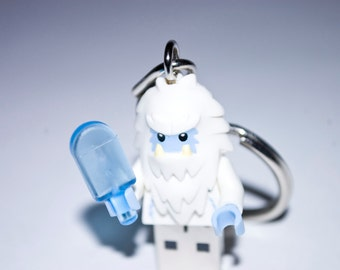128GB Yeti USB Flash Drive with Key Chain