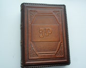 Photo Album - Handmade Art Leather Gift Present Cover Personalized #4