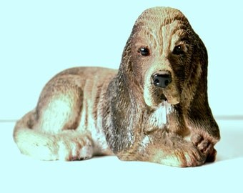 Dog Figurine Ceramic Animals Cute Gifts