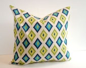 Designer Pillow Cover, Decorative, Throw. 16x16 inch- geometric