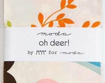 Moda Charm Pack Oh Deer! by Momo
