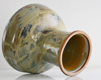 Mid Century Modern Tall Studio Pottery Vase