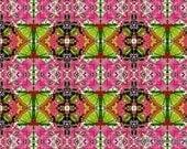 Digital Paper Bead Sheet Shades Of Pink And Green Set A