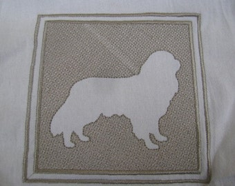 Embossed Style Dog Towel - DISCOUNTED FOR FLAW
