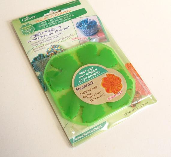 clover yo yo maker instructions