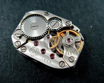 14x19mm vintage steam punk watch movement antiqued cabochon DIY supplies 1830026
