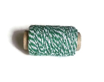 Green Twine, Green Bakers Twine, 25 Yards