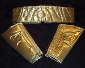 Shazam 52 Arm Bands & Belt